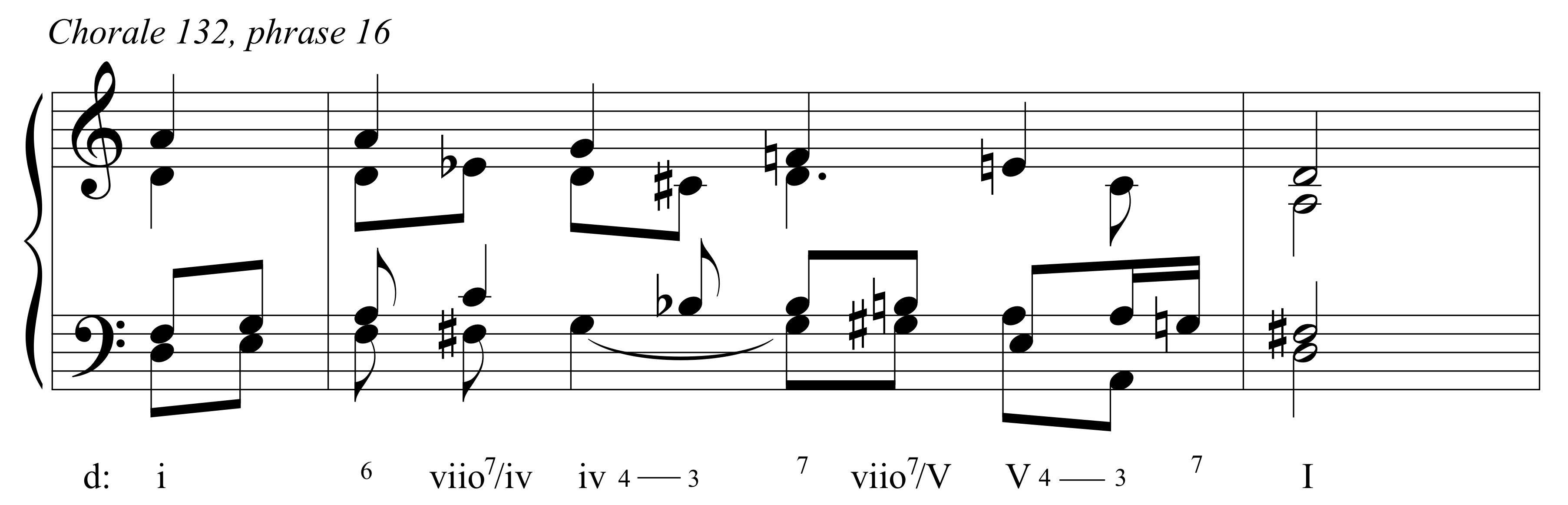 """Bach's """"12-tone"""" Chorale Phrases 