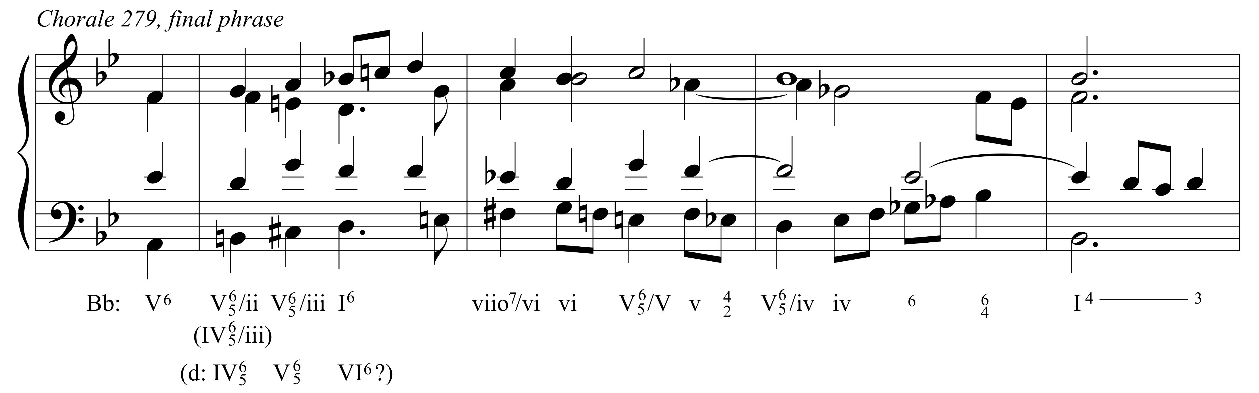 Bachs 12 tone chorale phrases for m is musick it hexwebz Choice Image