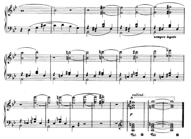 Liszt, Nuages Gris